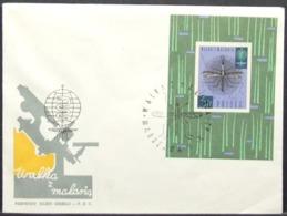 Poland - FDC 1962 Malaria S/S Insect - Malattie