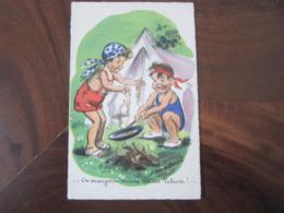 Carte Postale Illustrateur Germaine Bouret On Mangera Mieux Qu'au Palace! - Bouret, Germaine