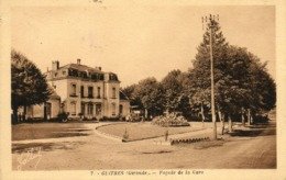GUITRES - 33 - Façade De La Gare - 80252 - France