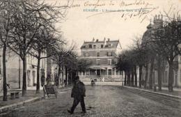 CPA BEAUNE ( 21) - BEAUNE - Avenue De La Gare - Charrette - Beaune