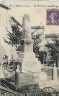 Lozère : Le Collet De Dèze, Le Monument Aux Morts - France