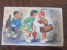 Carte Postale Illustrateur Germaine Bouret J'suis Chanteuse Réaliste C'est ça Qui Plaît! - Bouret, Germaine
