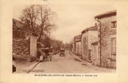 MAIZIERES LES JOINVILLE - 52 - Grande Rue - Automobile - Attelage - 80254 - France