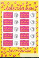 NN - D - [97077]TB//**/Mnh-c:40e-NN-Personnalisés 3760A, Logo 'Cérès', En Feuille De 10, Gomme Brillante - Personalisiert