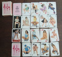 Jeu De 54 Cartes à Jouer Aslan Femme Pin Up Nues éditions Rombaldi En Boite Neuf Parfait état - Playing Cards (classic)
