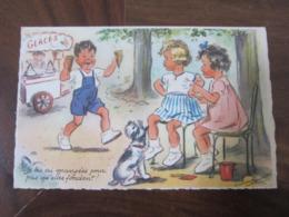 Carte Postale Illustrateur Germaine Bouret Je Les Ais Mangées Pour Pas Qu'elles Fondent! - Bouret, Germaine