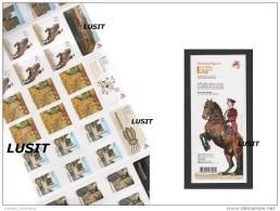30  STAMP PORTUGAL 2014 ALGARVE ALENTEJO SILVES CASTLE HORSE CHEVAUX LUSITANO ARCHEOLOGY ARRAIOLOS BRODERIE EMBROIDERY - 1910-... République
