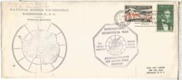 ESTADOS UNIDOS USA ANTARTIDA IGY AÑO GEOFISICO BASE AMUNDSEN SCOTT 1958 ANTARCTIC - Año Geofísico Internacional