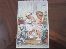 Carte Postale Illustrateur Germaine Bouret Madame Si Mon Diagnostic Est Juste.... - Bouret, Germaine