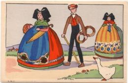 LISE T.L. Alsacien Et Alsaciennes (117151) - Illustrators & Photographers