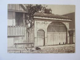 Romania-Peasant Gate In Oltenia/Poarta țărănească In Oltenia,unused Postcard From The 30s - Romania