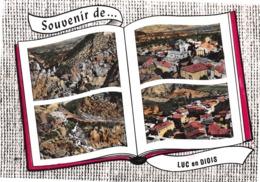 Souvenir De ... LUC-en-DIOIS - Vues Multiples - Livre Ouvert - Luc-en-Diois