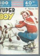 SUPER BOY   N° 79  -  IMPERIA 1956 - Superboy