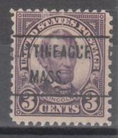 USA Precancel Vorausentwertung Preo, Locals Massachusetts, Mittiinegue 635-471 - United States