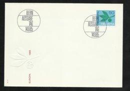 Suisse Lettre Illustrée  FDC Premier Jour Bern Le  14/09/1965 Le  N° 758   TB Soldé     Le Moins Cher Du Site ! ! ! - Europa-CEPT