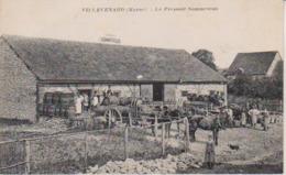 51   Villevenard  - Le Pressoir Sommesous - - Vertus