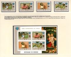 YEAR INTERN. OF CHILD - BURUNDI - Mi. Nr.  1497A/1500A + BF 109A - NH - (6532-19.) - Burundi