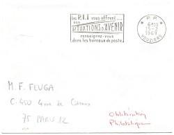 ARDENNES - Dépt N° 08 = VOUZIERS 1969 = FLAMME PP Non Codée = SECAP Multiple ' Les PTT Vous Offrent SITUATIONS' - Postmark Collection (Covers)