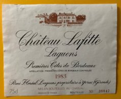 11764 - Château Lafitte Laguens 1983 - Bordeaux