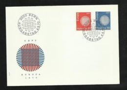 Suisse Lettre Illustrée  FDC Premier Jour Bern Le  04/05/1970 Les N° 855 Et 856   TB Soldé   Le Moins Cher Du Site ! ! ! - Europa-CEPT
