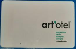 ART HOTEL MOTEL INN MOTOR HOUSE CARD KEY ART'OTEL BERLIN GERMANY DEUTSCHLAND - Other Collections