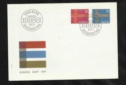 Suisse Lettre Illustrée  FDC Premier Jour Bern Le  03/05/1971 Les N° 882 Et 883   TB Soldé   Le Moins Cher Du Site ! ! ! - 1971