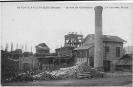 69 CPA STE FOY L ARGENTIERE MINES DE CHARBONS LE NOUVEAU PUIT - Autres Communes