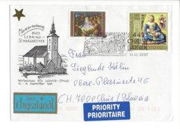 22394 - Christkindl 1997 Pour Chur + Vignette 11.12.1997 Markterhebung - Noël