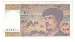France 20 Francs 1997 - 1962-1997 ''Francs''
