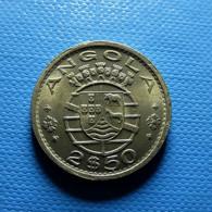 Portuguese Angola 2 1/2 Escudos 1969 - Portogallo
