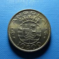 Portuguese Angola 10 Escudos 1970 - Portogallo
