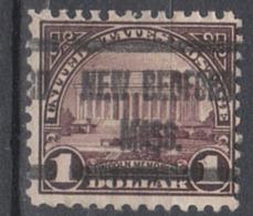 USA Precancel Vorausentwertung Preo, Locals Massachusetts, New Bedford 571-610 - United States