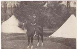31 Carte Photo Cavalier Camp De Bouconne - Mondonville - Militaria