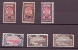 Martinique N° 86 à 91** - Martinique (1886-1947)
