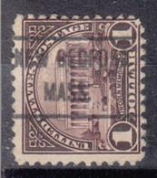 USA Precancel Vorausentwertung Preo, Locals Massachusetts, New Bedford 571-L-4 Hs - United States