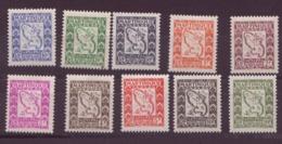 Martinique N° 27 à 36** TAXE - Martinica (1886-1947)