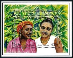 MAYOTTE 2000 - Yv. 85 Et 86 = BF3 **   Faciale= 1,25 EUR - Femme Mahoraise (2 Val.)  ..Réf.AFA23331 - Ungebraucht