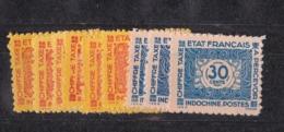 Indochine N 75 à 83** Sans Le 80 TAXE - Indochine (1889-1945)