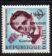 APR2107 - HAITI 1959 , Rifugiato Serie Yvert N. 419  ***  MNH  (2380A) - Haiti
