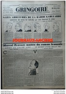 1941 Journal GRINGOIRE - COLLABORATION - N° 645 RADIO GAULLARDE - A VOIR - 1939-45