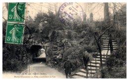 75 PARIS 19ème - Buttes Chaumont - Allée Conduisant Au Lac - Distretto: 19