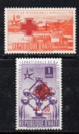 APR2402 - HAITI 1958 , Serie Yvert N. 382/383  ***  MNH  (2380A) Croce Rossa - Haiti