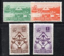 APR2406 - HAITI 1958 , Serie Yvert N. 374/377  ***  MNH  (2380A) Expo Bruxelles - Haiti