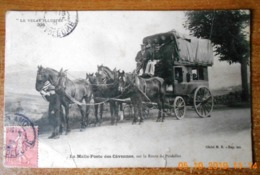 CPA La Malle-Poste Des Cévennes.Sur La Route De Pradelles.Le Velay Illustré 325.Haute-Loire 43 - Frankreich