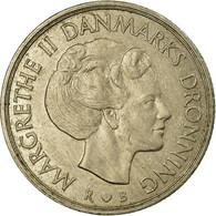 Monnaie, Danemark, Margrethe II, Krone, 1984, Copenhagen, TTB, Copper-nickel - Dänemark