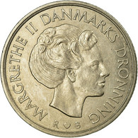 Monnaie, Danemark, Margrethe II, Krone, 1989, Copenhagen, TTB, Copper-nickel - Dänemark