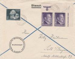 General Gouvernement Lettre Krakau Pour L'Allemagne 1942 - 1939-44: 2. WK
