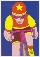Cpm 1741/429 ERGON - Homme à Bicyclette  - Vélo - Cyclisme - Bicycle - Cycle - Illustrateurs - Illustrateur - Ergon