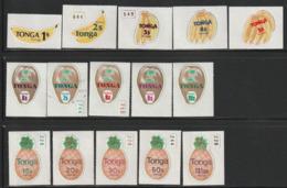 TONGA -  N° 424/38 ** (1978)  FRUITS - Tonga (1970-...)