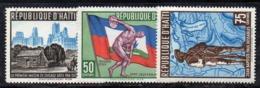 APR2959 - HAITI 1959 , Serie Yvert N. 420/422  ***  MNH  (2380A)  Chicago - Haiti